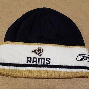 NWOT RAMS NFL Reebok Men's stocking cap
